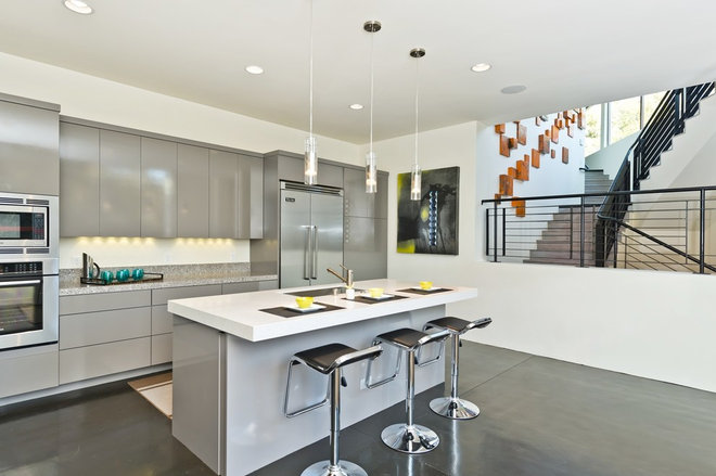 Contemporary Kitchen by Sherry Scott