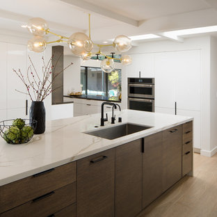 Inspiration for a midcentury kitchen in San Diego.