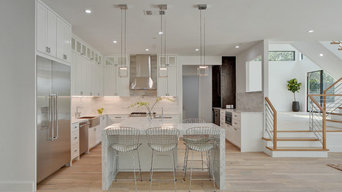 Modern Residence-Reclaimed Ivory White Oak Wood