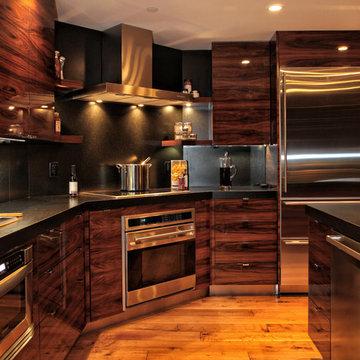 Modern Rosewood Kitchen