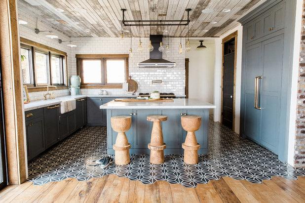 Industrial Kitchen by Aubrey Veva Design