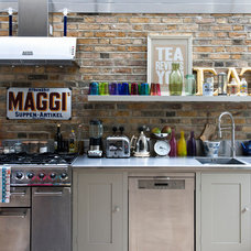 Eclectic Kitchen modern rustic kitchen