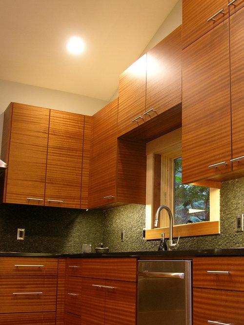 Modern Sapele Kitchen
