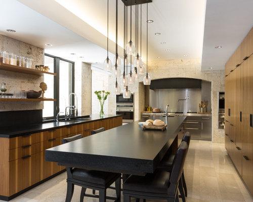 modern kitchen design ideas  remodel pictures  houzz, Kitchen design