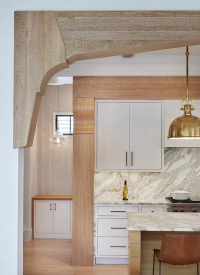 Farmhouse Kitchen by Charlie & Co. Design, Ltd