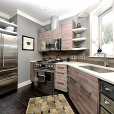 Contemporary Kitchen by Monticello Homes & Development