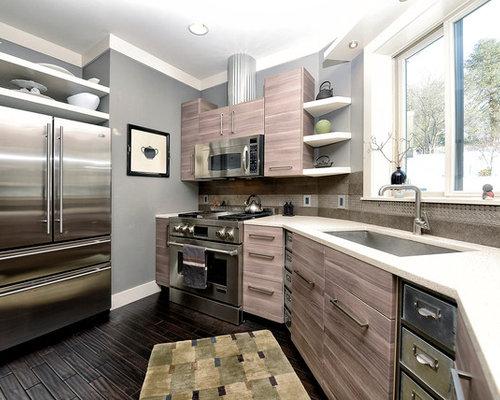 Houzz Above Fridge Cabinet Design Ideas Amp Remodel Pictures