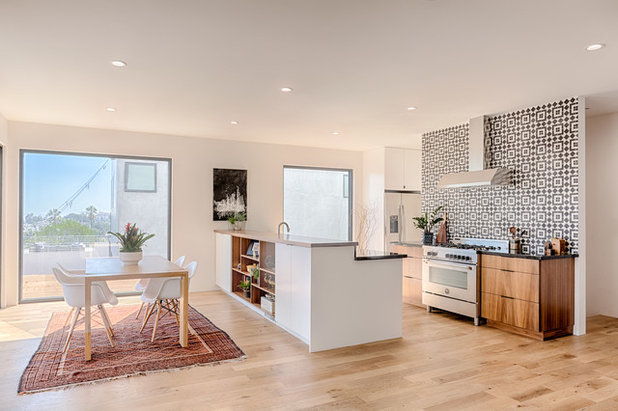Contemporary Kitchen by Carley Montgomery