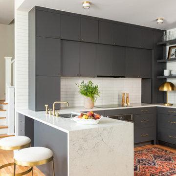 Modern Slate Kitchen