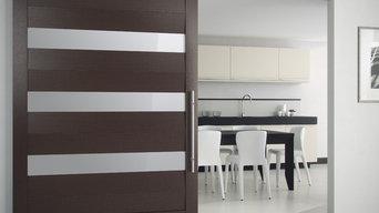 Modern Sliding Interior Door from ITALdoors
