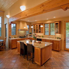 Southwestern Kitchen by Jon Tuthill Construction