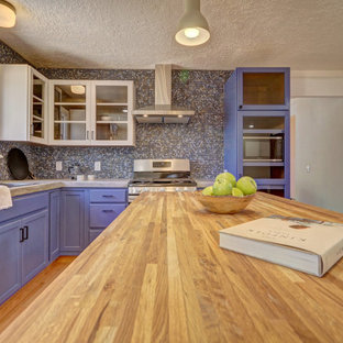 75 Beautiful Kitchen With Concrete Countertops Pictures Ideas May 2021 Houzz