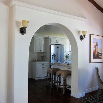 Modern Spanish Style Kitchen in Historic Santa Barbara Home