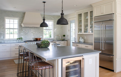 New This Week: 3 Serene Kitchens With Creamy White Cabinets