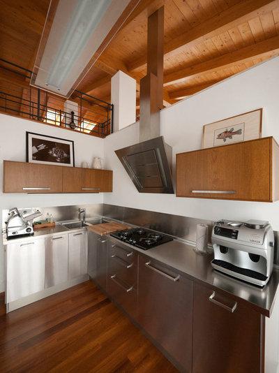 Guida houzz tutti i materiali per il top della cucina - Top della cucina ...