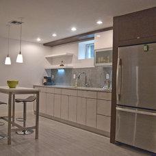 Modern Kitchen by Paul Lopa Designs