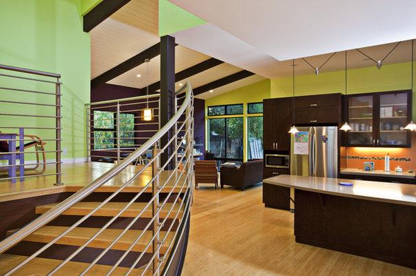 Modern Kitchen by Noel Cross+Architects