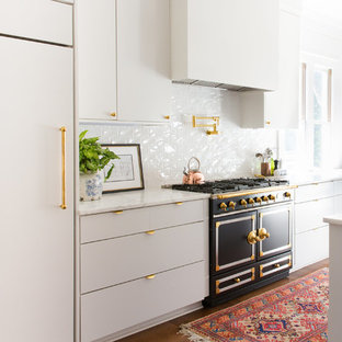 75 most popular kitchen with black appliances and white cabinets