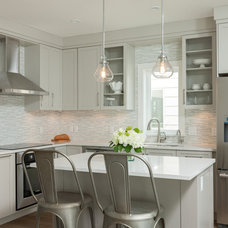 Transitional Kitchen by JDL Homes Vancouver