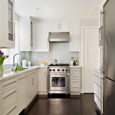 Traditional Kitchen by Frances Herrera Interior Design