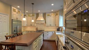 Modern Traditional White Kitchen Remodel
