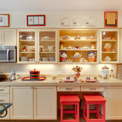 eclectic kitchen by Reico Kitchen & Bath