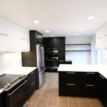 Modern Tuxedo Kitchen
