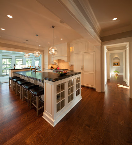 Transitional Kitchen by Kyle Hunt & Partners, Incorporated