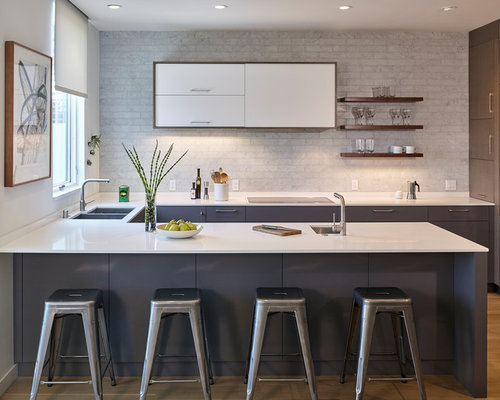 Best Small U Shaped Kitchen Design Ideas Remodel Pictures Houzz