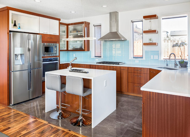 Contemporary Kitchen by Design Build Duluth