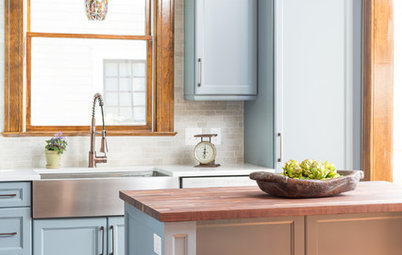 Trending Now: 11 Popular Kitchens That Rock Not-White Cabinets