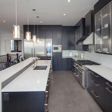 Contemporary Kitchen by Willson Design