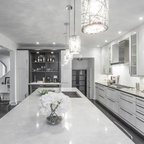 Modern White U0026 Grey Kitchen Design Oakville Part 88