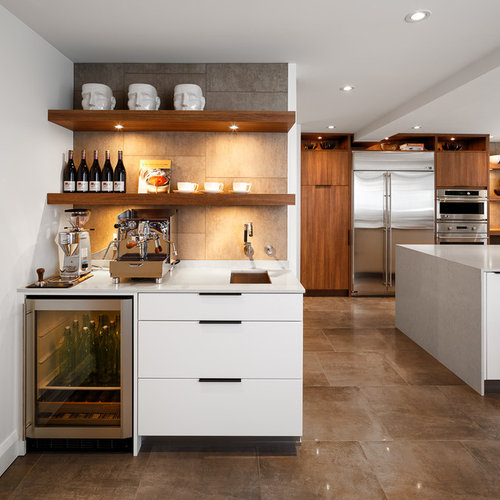 how to do a backsplash in a kitchen beverage station houzz 9729
