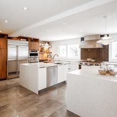 Contemporary Kitchen by Astro Design Centre
