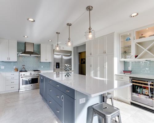 surprising modern kitchen designs white cabinets | Modern White Kitchen | Houzz