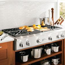 Modern Kitchen by Susan Jablon Mosaics