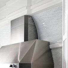Contemporary Kitchen by Susan Jablon Mosaics