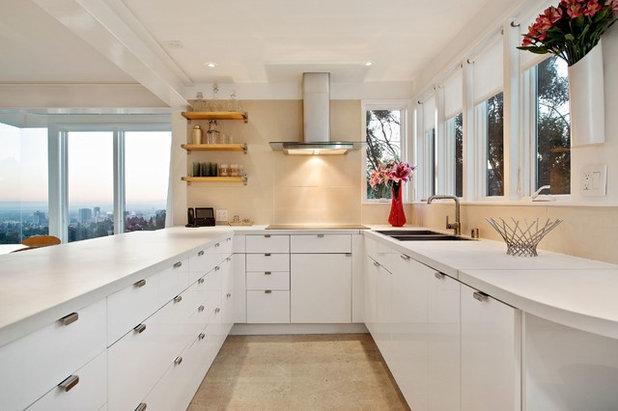 Contemporary Kitchen by Wolf Design Studio