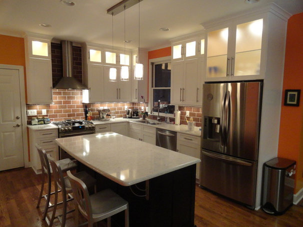 Eclectic Kitchen by Acworth Cabinet, Inc