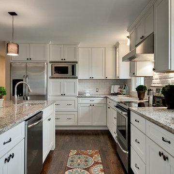 Modern White Shaker Kitchens