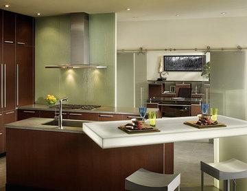 Modern Wood-Mode Kitchen