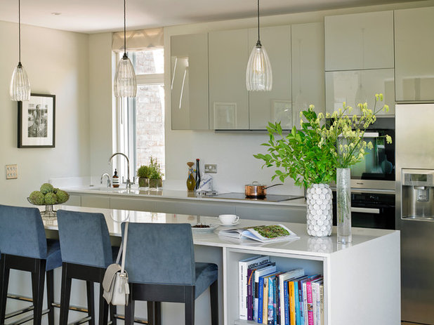 Transitional Kitchen by Susan Venn Design