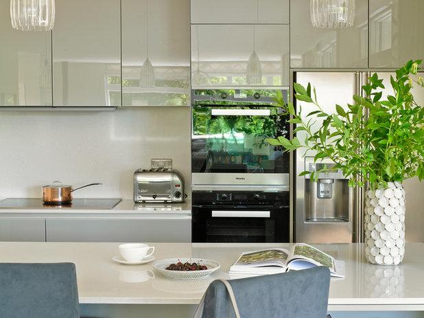 Beautiful Transitional Kitchen by Susan Venn Design