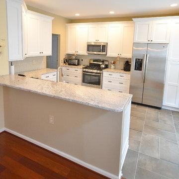 Modest Kitchen Remodel w Drastic Changes Under $36K