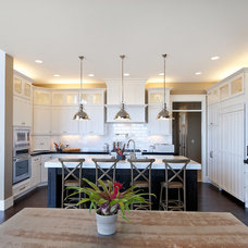 Craftsman Kitchen by Candlelight Homes