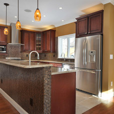Contemporary Kitchen by Big Sky Custom Homes