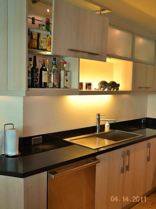 Modular kitchen cabinets houzz for Modular kitchen cupboard