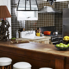 Rustic Kitchen by Modwalls