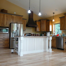 Rustic Kitchen by K.L. Design
